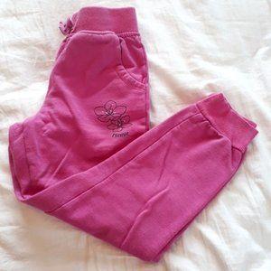 Disney Girls Size 6 Minnie Mouse Pink Sweatpants